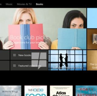 Windows 10 Store Books