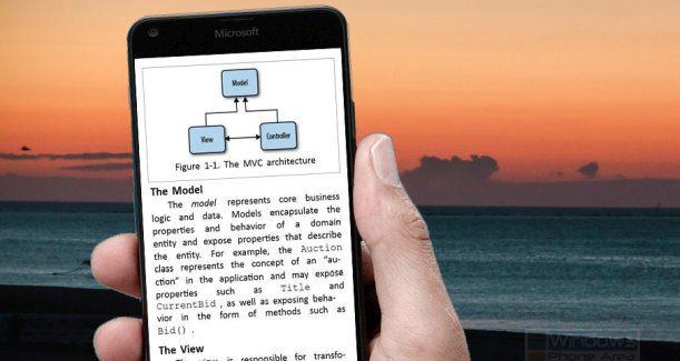 ebook windows phone