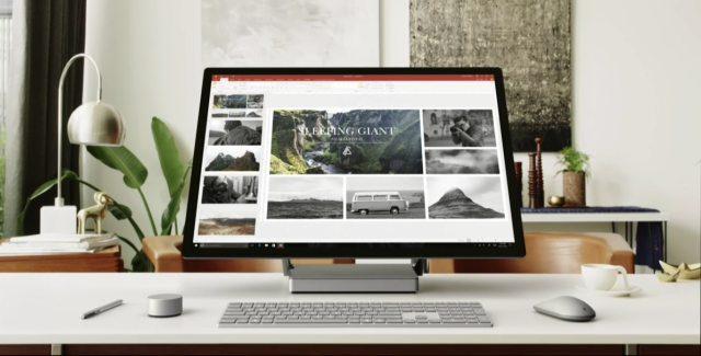 Windows 10 Surface Studio