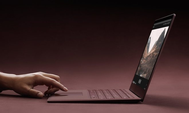 Surface Laptop touch