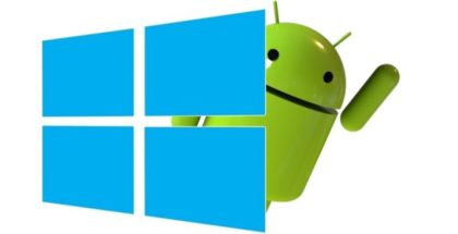 Logo Windows Android 10
