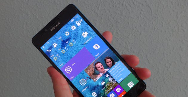 windows mobile start lumia screen 10