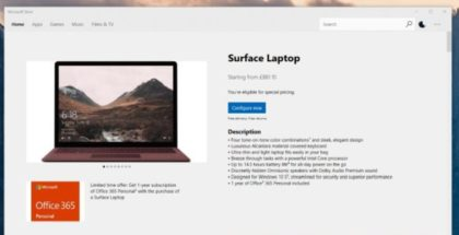 Microsoft Store, will soon allow you to buy hardware