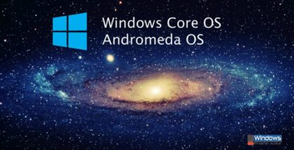 Windows Core OS Andromeda