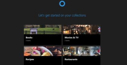 Cortana Collections