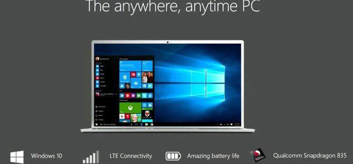 Windows ARM Qualcomm 10