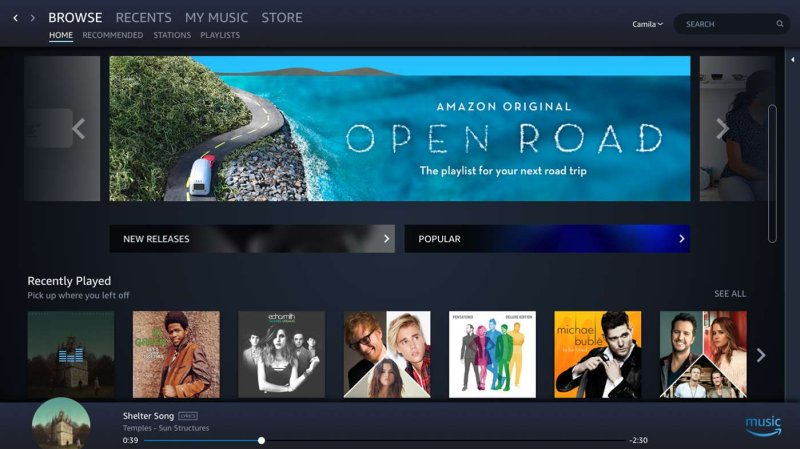 Amazon Music app Store WIndows 10