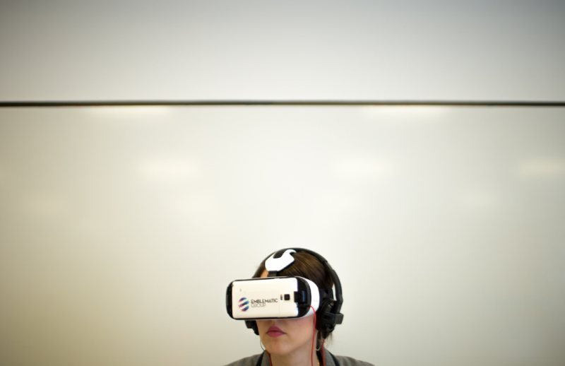"""Virtual Reality Demonstrations"" (CC BY 2.0) by UTKnightCenter"
