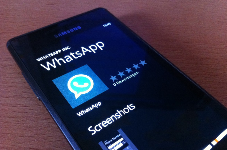 WhatsApp for Windows Phone has been finally updated