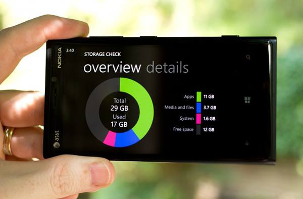 Internal Storage Windows Phone
