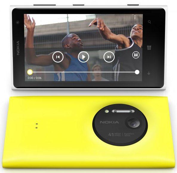 Nokia Lumia 1020 promo