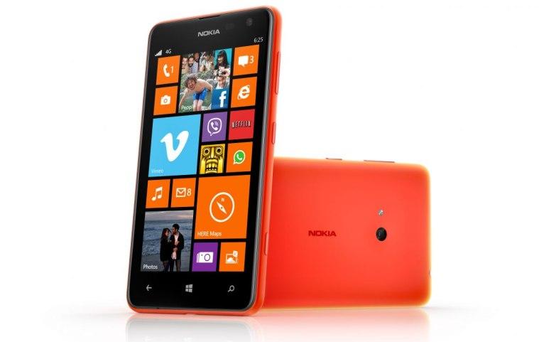 Nokia Lumia 625 press image orange