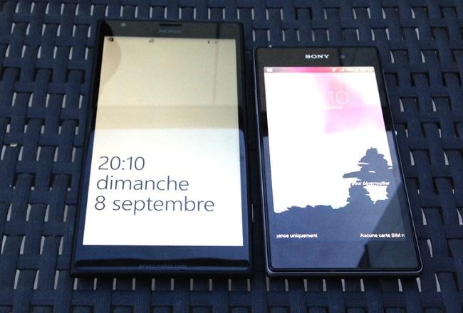 lumia1520 photos with Sony