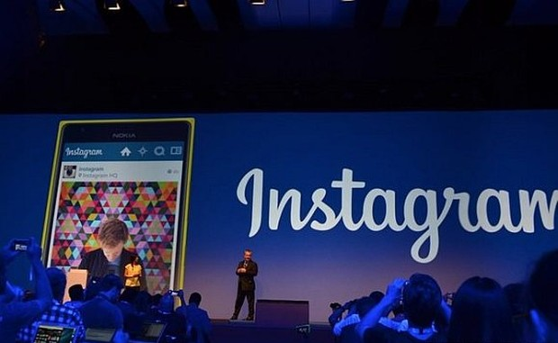 Instagram presented at the Nokia World event