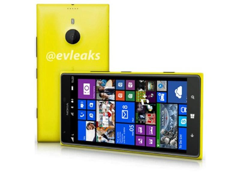 Evleaks shows the Lumia 1520