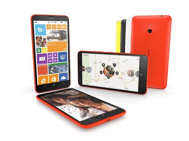 Promo Picture of Lumia 1320