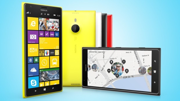 Screenshot of Lumia 1520