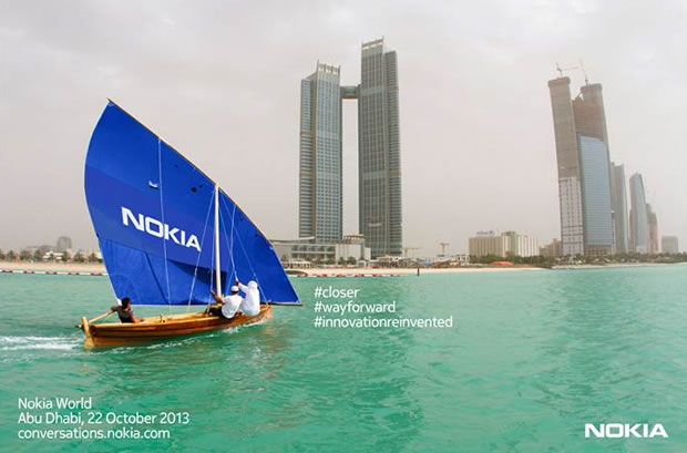 Nokia World Event on October 22 in Abu Dhabi