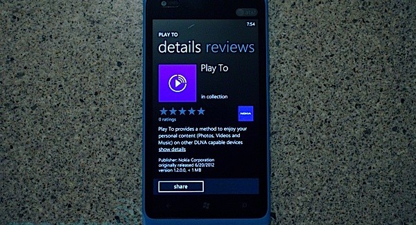 Nokia Play To beta
