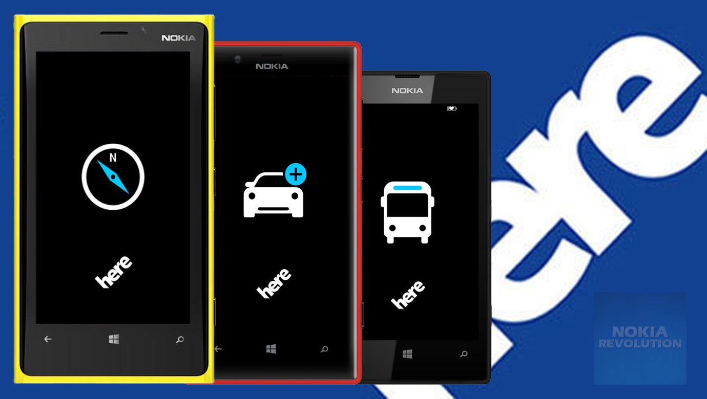 HERE Suite for Windows Phone