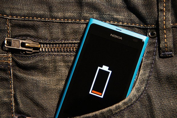 Nokia phone low battery