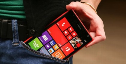 A picture of the Nokia Lumia 1520