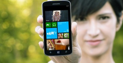 A Windows Phone device