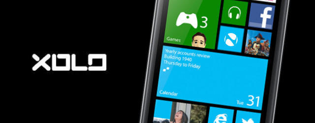 Xolo prepares a Windows Phone