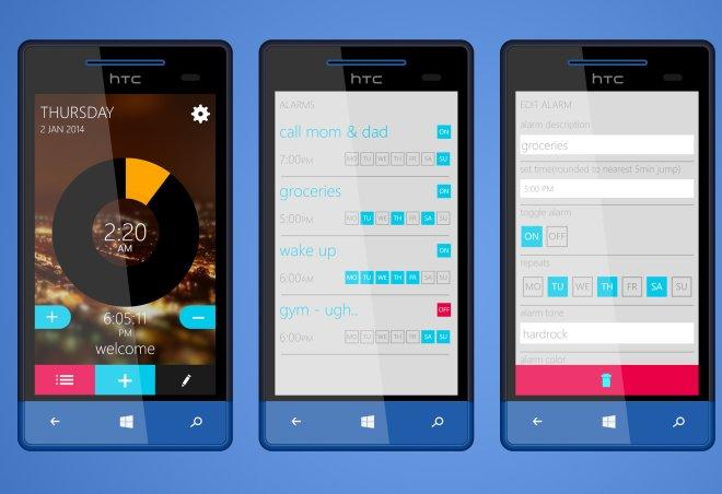 Alarmme Is A New Alternative Alarm App For Windows Phone 8