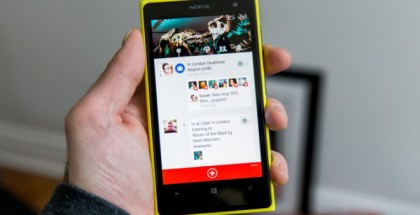 Lumia phone Path social app