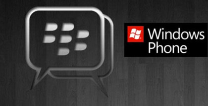 BlackBerry messenger BBM is coming soon for Windows Phone smartphones