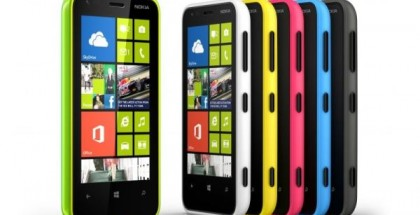 Nokia Lumia 620 in all colors
