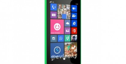first picture of Nokia Lumia 630