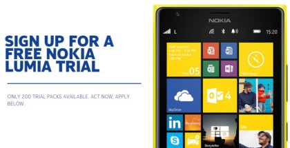 Nokia Lumia free trial program