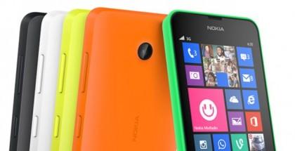 Nokia Lumia 630 all colors
