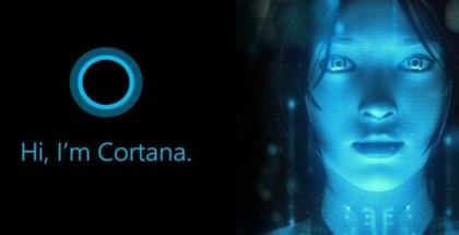 Cortana face logo