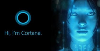 Cortana face logo
