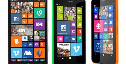 Nokia Lumia 930 and Lumia 630
