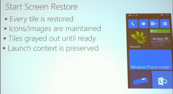 Start screen backup & restore in Windows Phone 8.1