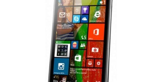 LG Uni8 running WIndows Phone 8.1 smartphone