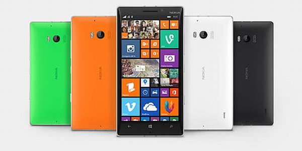 all color options of the Nokia Lumia 930
