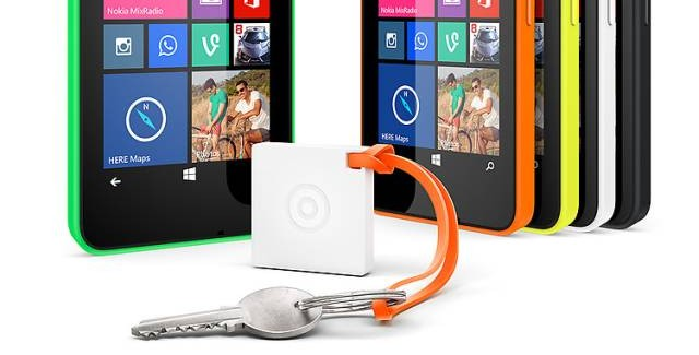 Nokia Treasure Tag Mini is thinner, lighter and compatible with iOS/Android