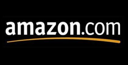 amazon logo in black