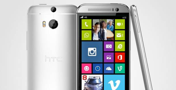 HTC One M8 with Windows Phone 8.1