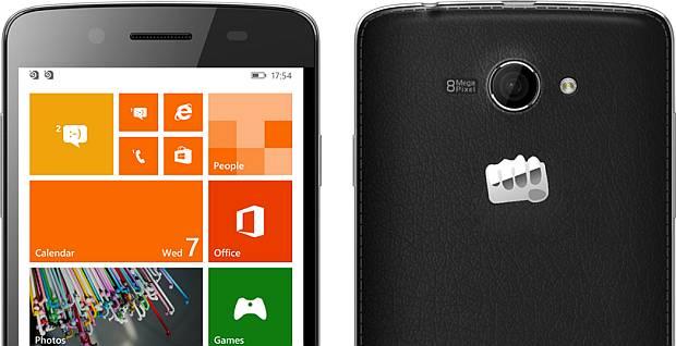 Micromax presented two Windows Phone smartphones
