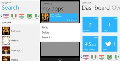 myAppRank for Windows Phone 8