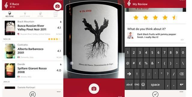 Vivino Wine Scanner app for Windows Phone 8.1