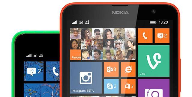Start screen after Lumia Cyan update