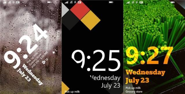 Live Lock Screen App for Windows Phones 8.1