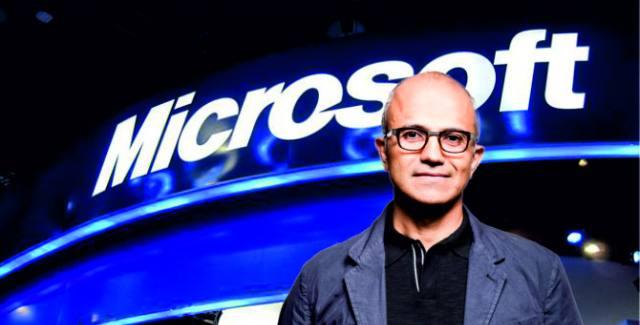 Nadella redefines Microsoft's core vision